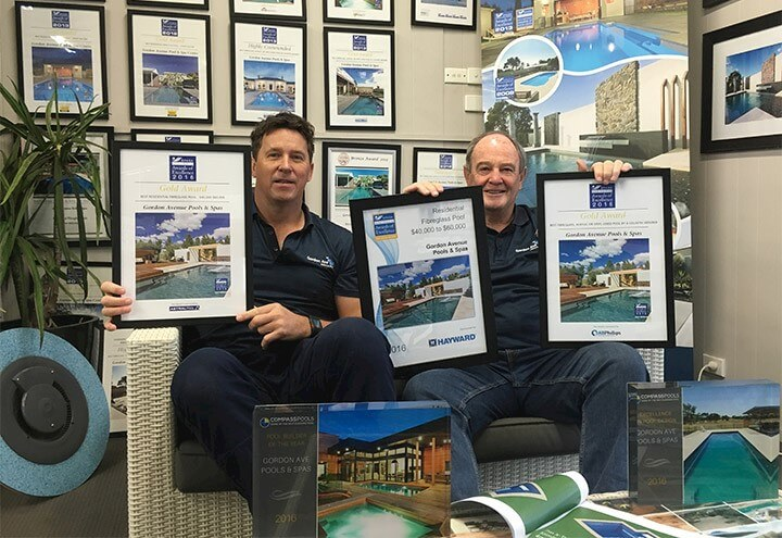 Gordon Ave Pools and Spas_Pool builder in Geelong_Awards